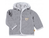 steiff Girls Nicki Jacke softgrey