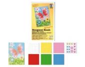 Moosgummi Mosaik Schmetterling