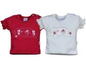 Liliput T-Shirt mit Aufdruck Maus Gr. 56 (Weiß) [Babykleidung]