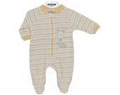 Jacky Schlafanzug Reindeer Gr. 68 (Gelb-Beige) [Babykleidung]
