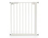 Baby Dan Tür und Treppenschutzgitter Slim Fit: für schmale Öffnungen, 63 - 69.5 cm, Farbe: Weiß