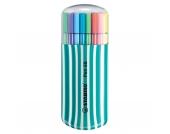 Filzstifte Pen 68 Box türkis, 20 Farben
