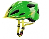 Uvex Kinder Radhelm Quatro Junior green yellow 50-55 cm