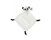 Plüsch-Schnuffeltuch Kuscheltier Schmusetuch Plüschtuch (Panda)