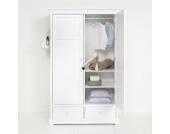 Oliver Furniture Schrank Kleiderschrank mit 2 Türen 195 cm hoch