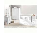 Mitwachsendes Komplett Babyzimmer Elite mit 3 türigem Kl. von 0 bis 12 Jahren