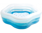 Intex Schwimm-Center Summer Colors Pool (Blau-Weiß) [Kinderspielzeug]