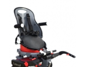 Revelo Stuh l-und Kinderwagensitz für Lascal Buggyboard Perle grau