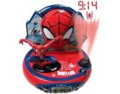 Spider-Man Radiowecker mit Projektion und Nachtlicht
