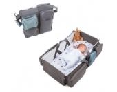 Doomoo basics Baby Travel-, Reise- und Tragetasche grau