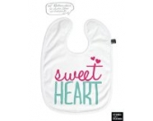 Lätzchen Baby sweetheart Typo BL056 (mehrfarbig)