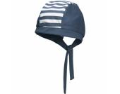 Playshoes Boys UV-Schutz Kopftuch maritim marine - blau - Gr.Newborn (0 - 6 Monate) - Jungen