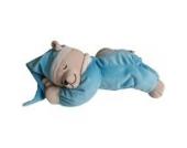 Babiage Doodoo Einschlafhilfe Bär mit Nachtlicht - Kuscheltier Mit Mutterleibstöne Die Beruhigen ein Neugeborenes