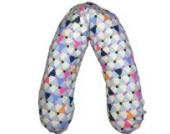 little one® Stillkissen Lagerungskissen Seitenschläferkissen, Bezug: Bio-Baumwolle, kbA; Füllung: PP-Perlen (Retro Halma)