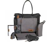 Wickeltasche Essential Bag, schwarz