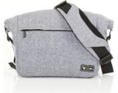 ABC DESIGN Wickeltasche Courier graphite