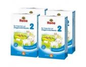 Holle Bio-Folgemilch 2 auf Ziegenmilchbasis 4 x 400 g