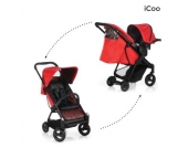 Icoo Buggy Acrobat Shop´n´Drive Fishbone red - rot