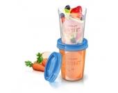 Philips Avent Aufbewahrungssystem für Babynahrung SCF639/05 5 x 240 ml ab 6 Monate - Gr.125ml-250ml
