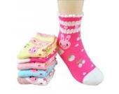 Luckystaryuan ® Set von 5 Mädchen Socken Frühling Herbst Schöne Socke Geschenk für Tochter (6-8years old, Bild 6)