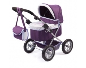 bayer Design Puppenwagen Trendy Piccolina, Set mit Bett