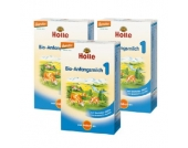 Holle Bio-Anfangsmilch 1 3 x 400 g - Gr.ab 0 Monate