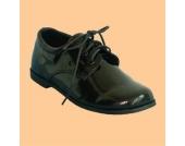 Elegante Schuhe Lackschuhe in schwarz Gr��e 29-32