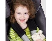 Diono SOFT WRAPS Black Gurtpolster f�r Kinderautositz, Babyschale und Kinderwagen