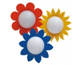 Bodo Hennig Puppenhaus Beleuchtung Wandlampe Blume in versch. Ausführungen