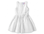 REVIEW KIDS Kinder Kleid, Farbe weiss