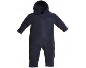 BMS Antarctic Fleece Baby Kapuzenoverall Marine