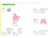 Fashy LaLeLu in the field 4 tlg.-Set: Langarm-Wickelbody, 2 verschiedene Langarm-Shirts und gefütterte Nicki Hose Gr. 50/56 rosa