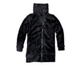 Emoi Mädchen Fleecejacke/Sweatshirt/Fell Jacke,schwarz,Größe 128