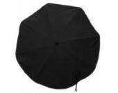 Sonnenschirm Elite XL 70 cm schwarz