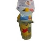 Disney -- Winnie the Pooh Trinklernbecher auslaufsicher (Deckel in gelb)