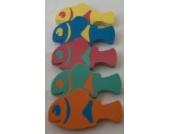 Auftriebshilfe Schwimmspass Clownfish 400x220x38mm GELB MIT ROTEN EinsätzenNEU&Original von Babysplash