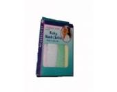 Mother´s Care - 4er Pack - Baby Waschlappen - Mädchenfarben - aus USA