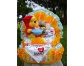 XL WindeltorteWinnie Pooh-Gute Nacht Licht mit Schlafliedern Geburt,Taufe,Geburtstag
