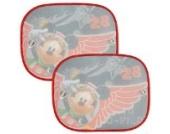 2 tlg. Set Sonnenschutz - Disney  Mickey Mouse  - für Seitenscheibe im Auto - mit Saugnapf - Sonnenblende - für Kinder Baby - Junge - Fenster Fensterschutz - Verdunklung