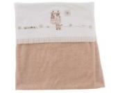 Natures Purest Sleepy Safari Velour Baby Decke Kuscheldecke