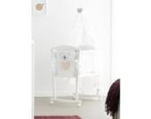 Pali Babywiege aus Buchenholz komplett mit Textilien Design Baby Baby