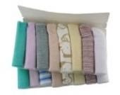 BONAMART ® 8 23X23cm Waschlappen Baby waschlappen Baumwolle Lätzchen Fütterung Wischtuch