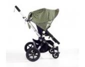 Sonnenschutz Sonnendach Sonnensegel Sonnenverdeck Sonnette® single UPF 80+ für Kinderwagen Emery green
