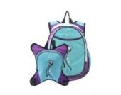 O3 O3DBPCA004 Innsbruck Backpack, Wickeltaschen Rucksack mit Wickelunterlage und Flaschenwärmer, Schmetterling