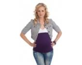 mamaband Bauchbinde Basic Lila Gr. M 38-42