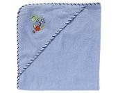 BOB Kapuzenbadetuch, 100x100cm, Frosch-Motiv, Baumwolle, für Babys