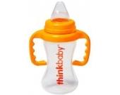 Thinkbaby Schnabeltasse für Kleinkinder 9ten bis 36ten Monat - Ohne BPA – 9oz / 266 ml – Orange