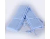 XXXL Nestchen 25 x 420 cm hellblau Bettumrandung Bettausstattung Bettnestchen Kantenschutz