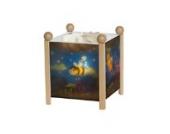 Trousselier 4394N Magische Laterne Gestell aus natürlichem Holz mit Insekten